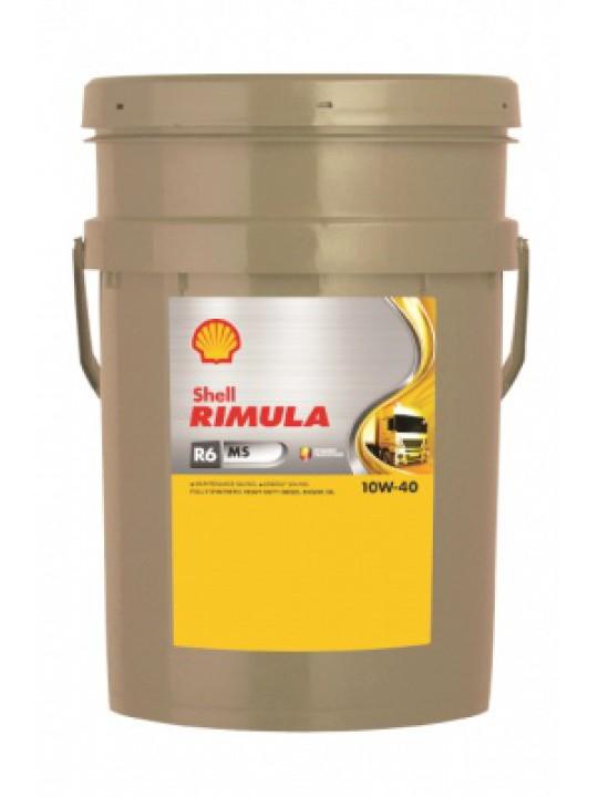 SHELL Rimula R6 MS 10W40 - 20L